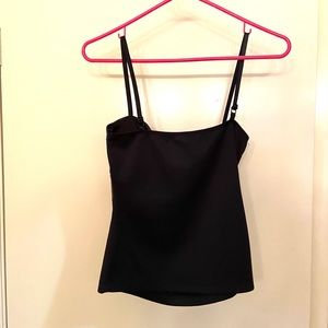 Body Central Tops - Sexy Black Spagetti Strap V-Accent Top
